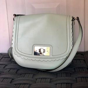 Mint scalloped crossbody ♠️ Kate Spade